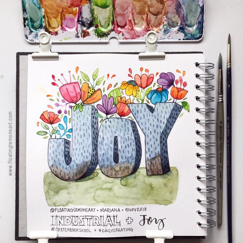 Industrial Joy by  Floating Lemons Art