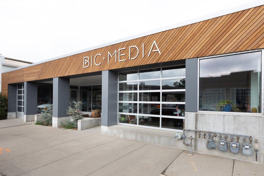 Exterior facade of BicMedia