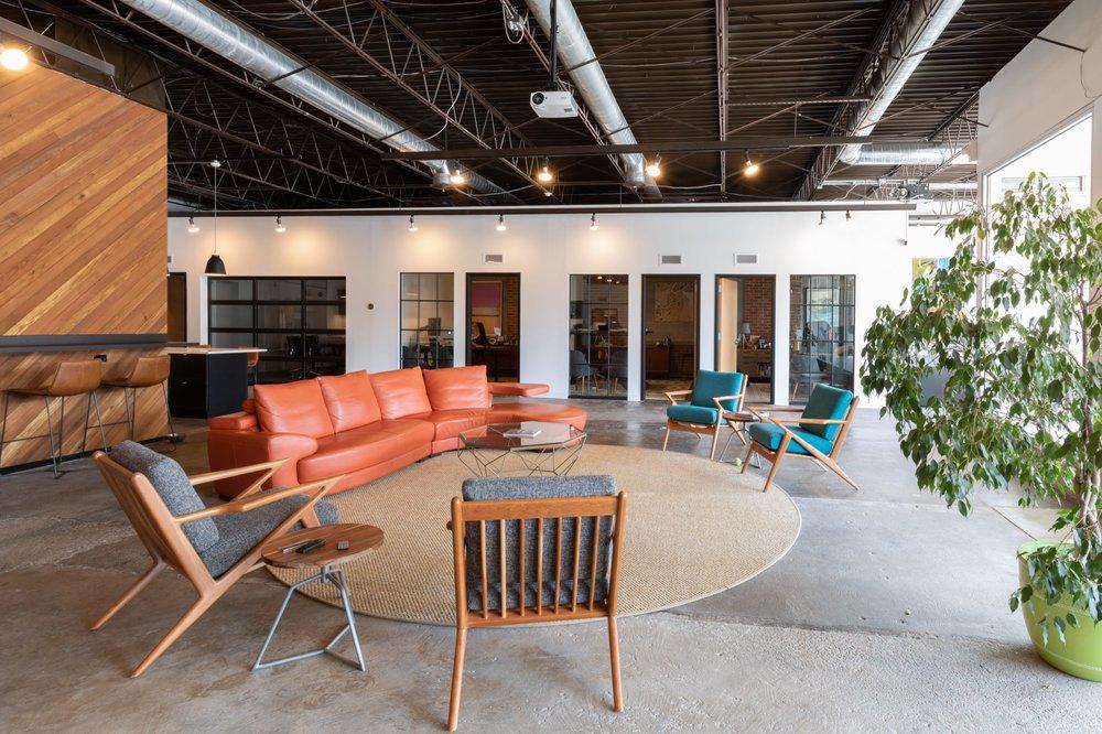 Lounge area at BicMedia