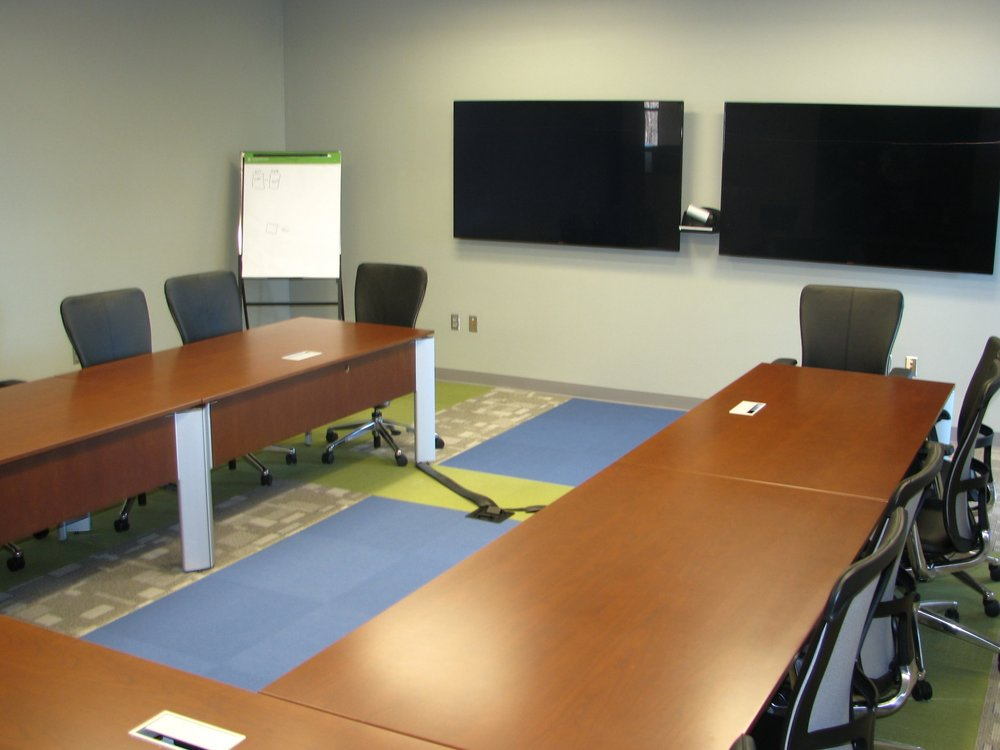 A conference room at CoreSource
