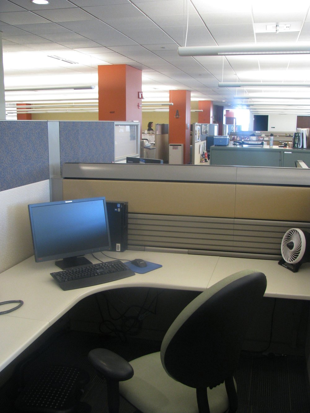 New cubicle spaces at CoreSource