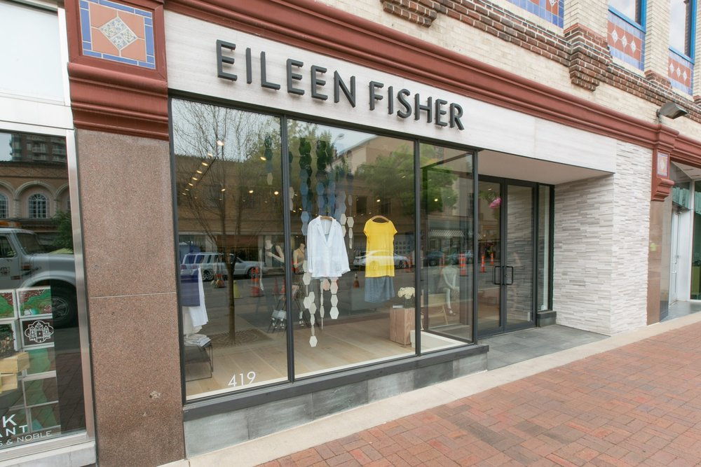Eileen Fisher retail facade in Kansas City