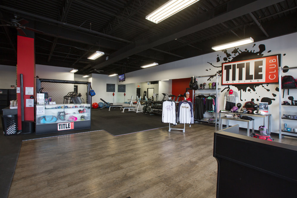Retail space at TITLE Boxing Club