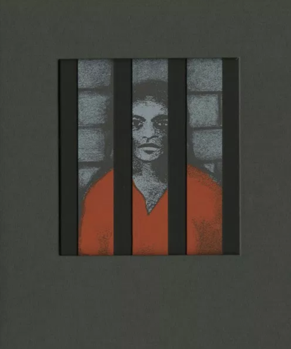 Tona Wilson,  Stories Behind Bars    Assisted with screen printing, book-binding, and creating slipcase structures