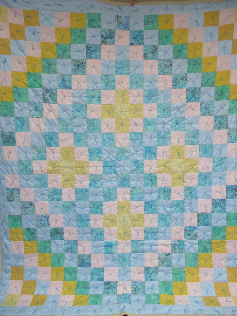 26, AT THE BEACH COMFORTER, 76x94, Donated by Cumberland Valley Relief Center