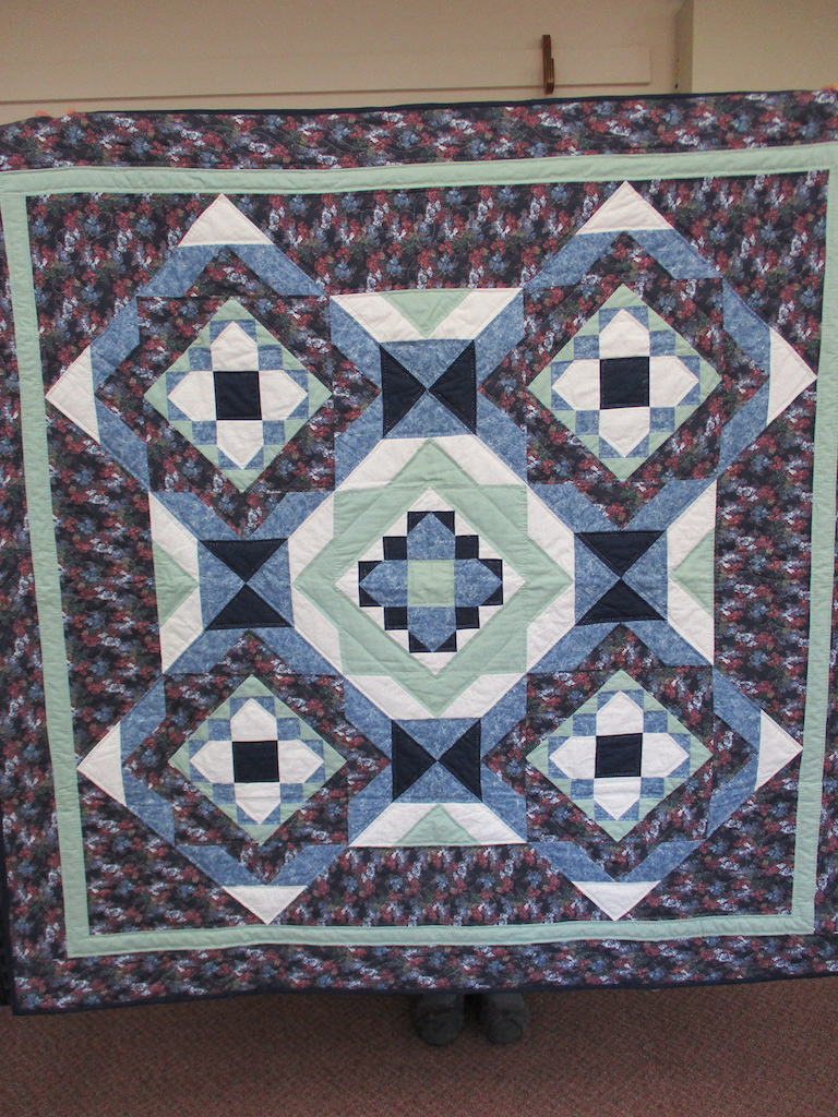 106, SERENDIPITY, 58x58, Pieced, Quilted and Donated by Friends of MCC