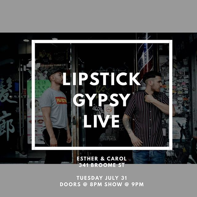 It's happening this TUESDAY 7/31 we are playing live and we want to dance with YOU! 🕺🏻💃🕺🏻💃👯‍♀️