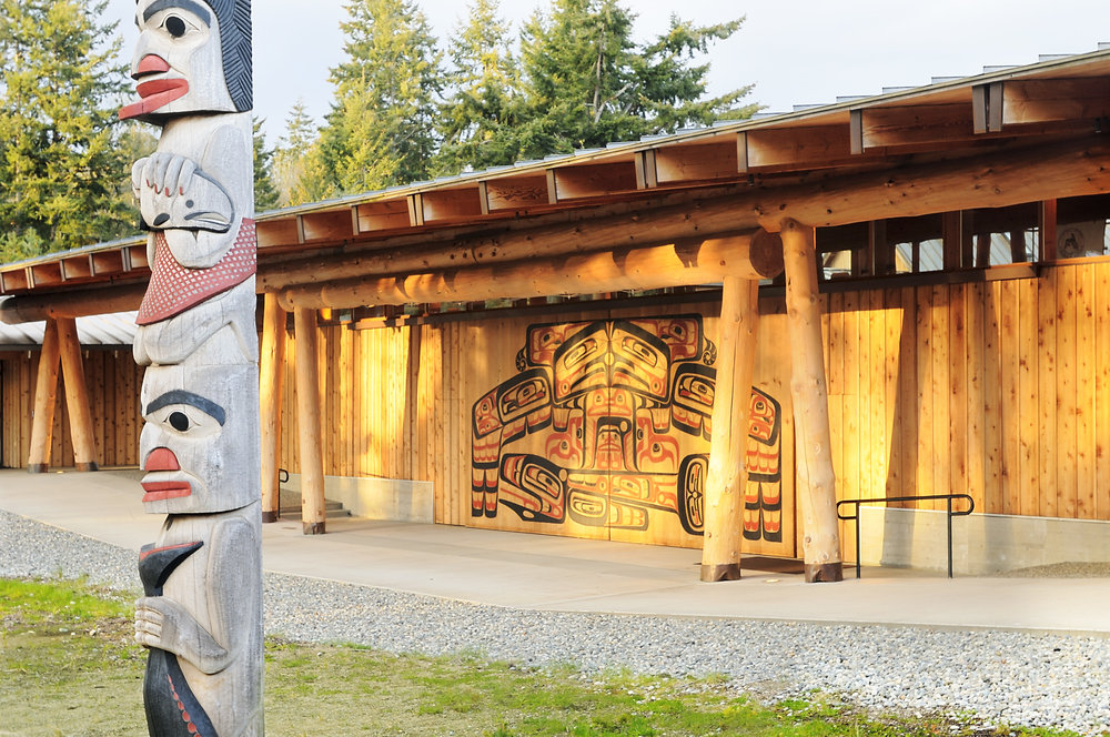 PORT GAMBLE S'KLALLAM TRIBE HOUSE OF KNOWLEDGE -
