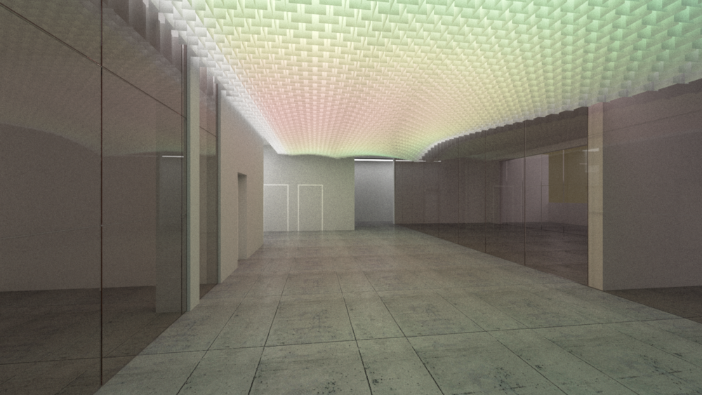 rendering of lobby ceiling