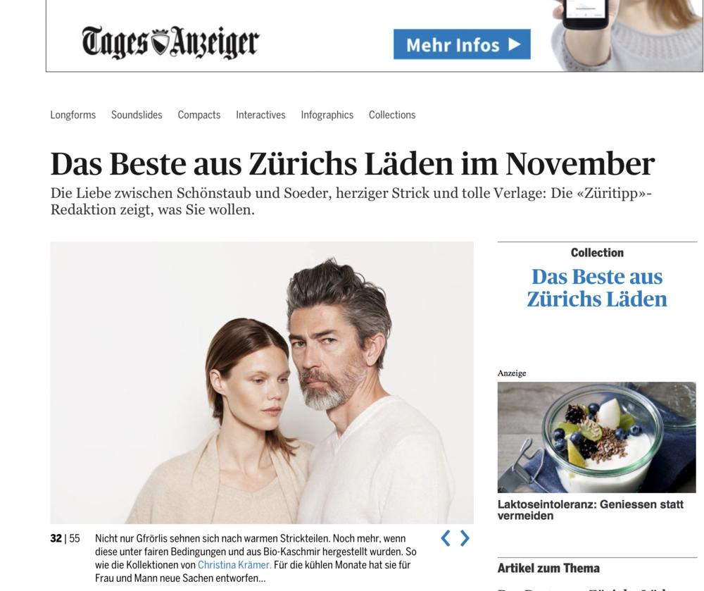 Tagesanzeiger Online 11/16