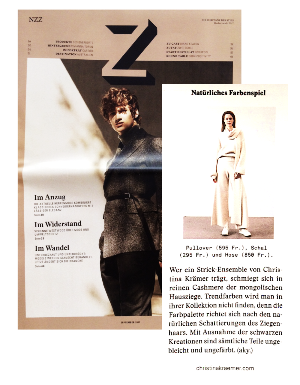 NZZ Z-MAGAZINE 9/17
