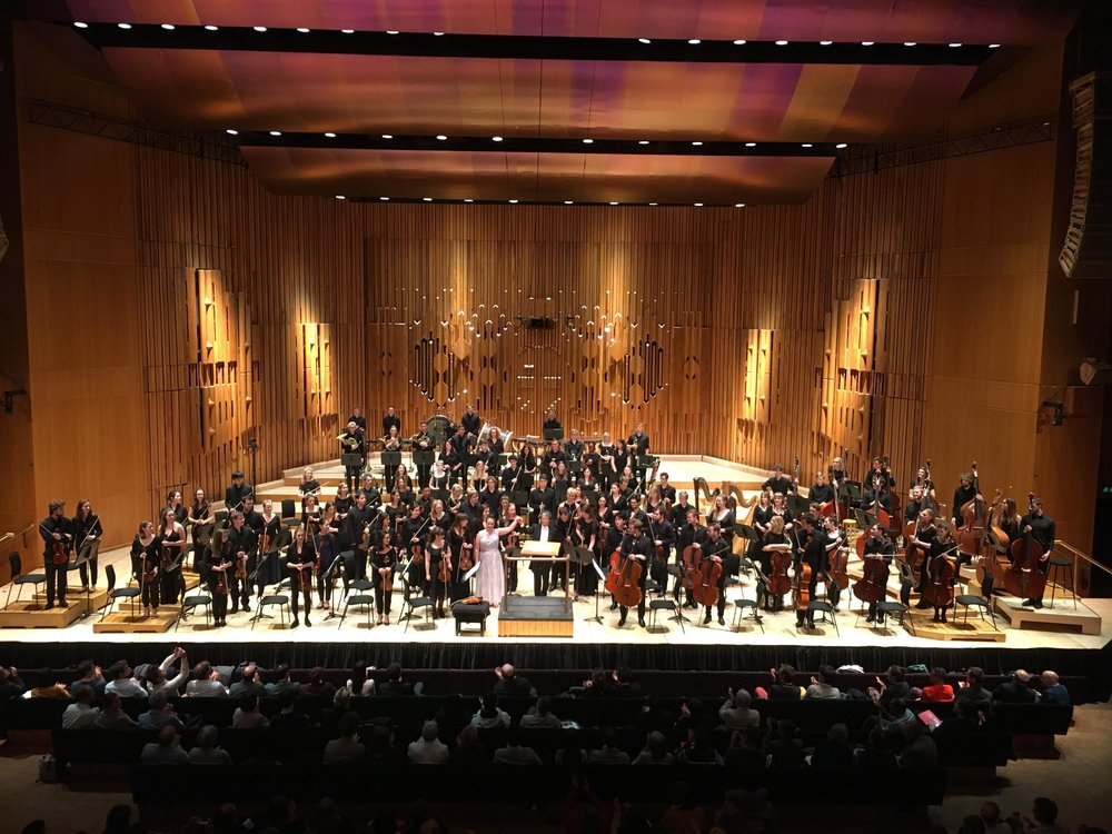 4th Symphony - Mahler with Guildhall Symphony Orchestra and Takuo Yuasa, Barbican Centre, 2018