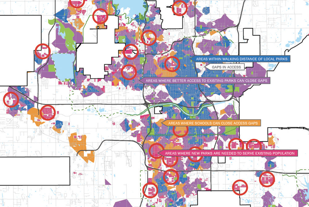 Oklahoma City Parks Master Plan Access