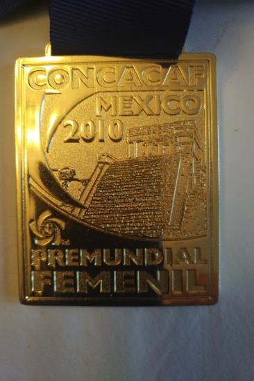 CONCACAF Gold Medal won by Canada's Sr. Women's National Team. Joe Parolini was Technical Staff member.