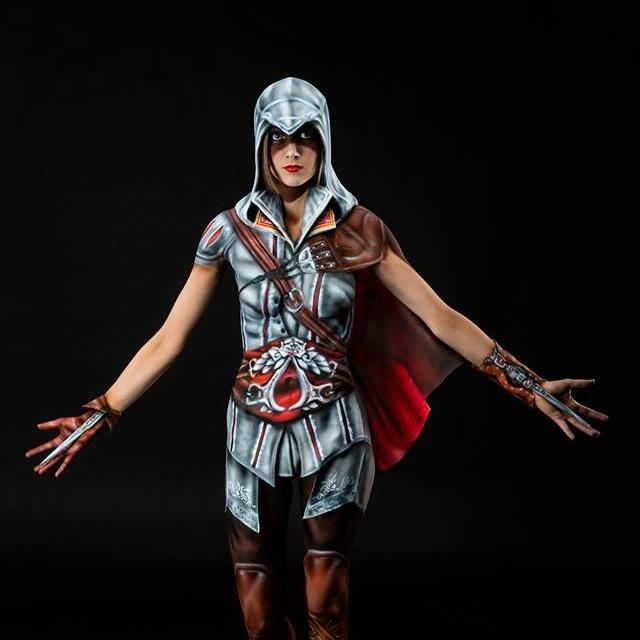 Assassins Creed Bodypaint