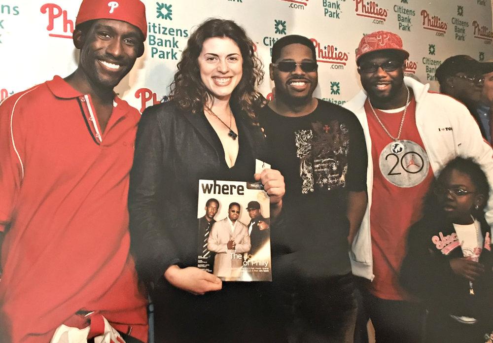 Editor in Chief of Where Magazine Philadelphia (with Boyz II Men)