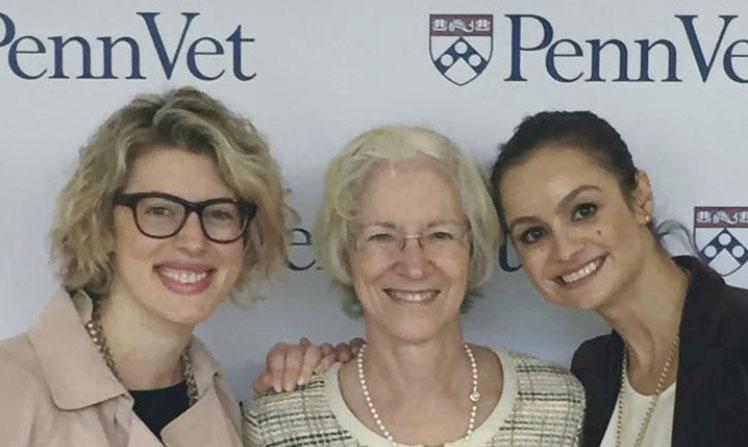 Editor and writer for Penn Vet (with Dean Joan Hendricks and Development Director Helen Radenkovic)