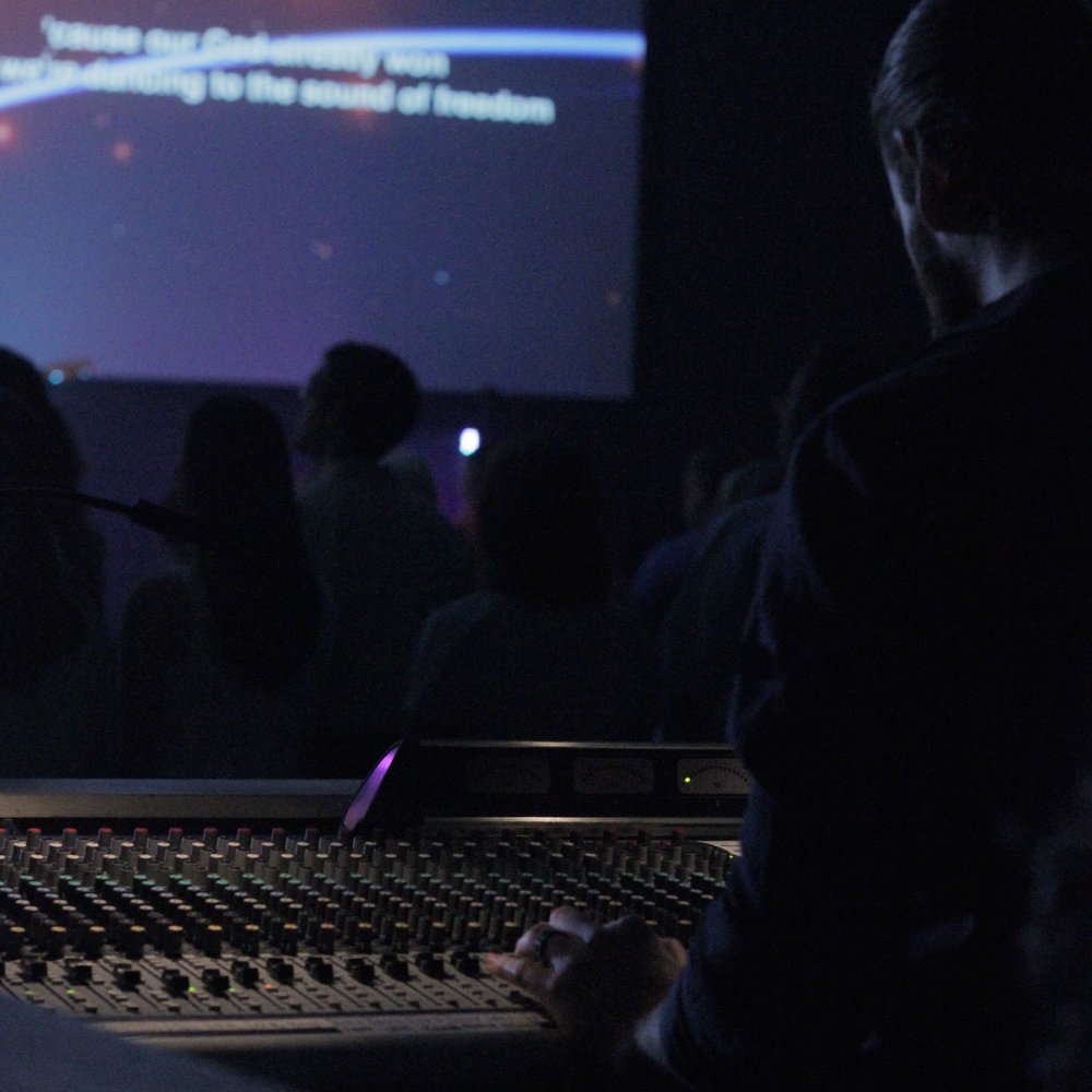 PRODUCTION - Quality level production is a huge part of what happens at each of our services. Our Production team is the fuel behind the service you experience at Hope Church. Each of our volunteers are committed to help create an atmosphere of worship and awe of God.
