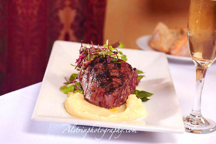 professional commercial photography steak