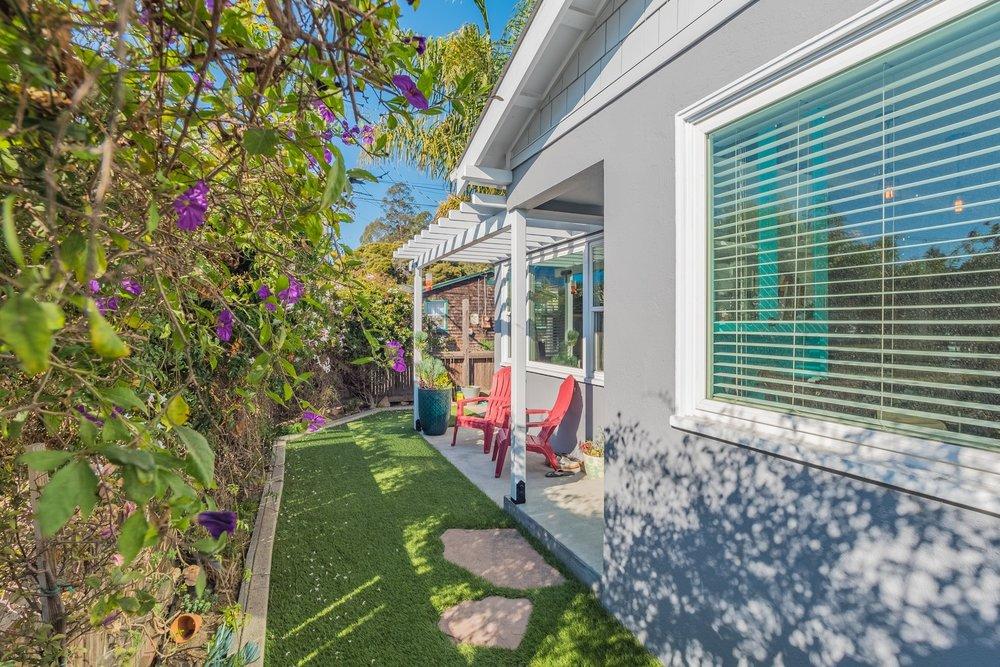 Landscaped Yard Santa Cruz