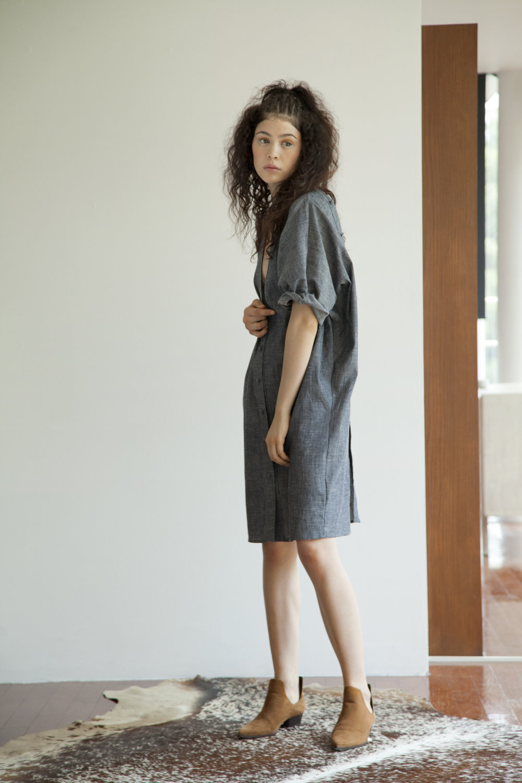 NAOKO LONG BLOUSE- DENIM SHIRT DRESS.jpg