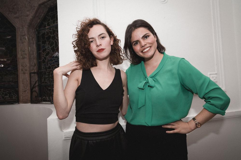 Ana Gómez y Elina Corona, fundadoras de Archivo Moda Mexicana Fotografía Beatriz Sokol