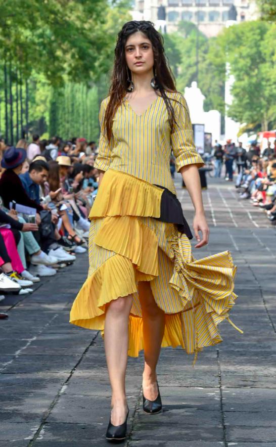 Armando Takeda , Stripe dress