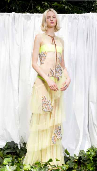 Alexia Ulibarri, Embelished dress