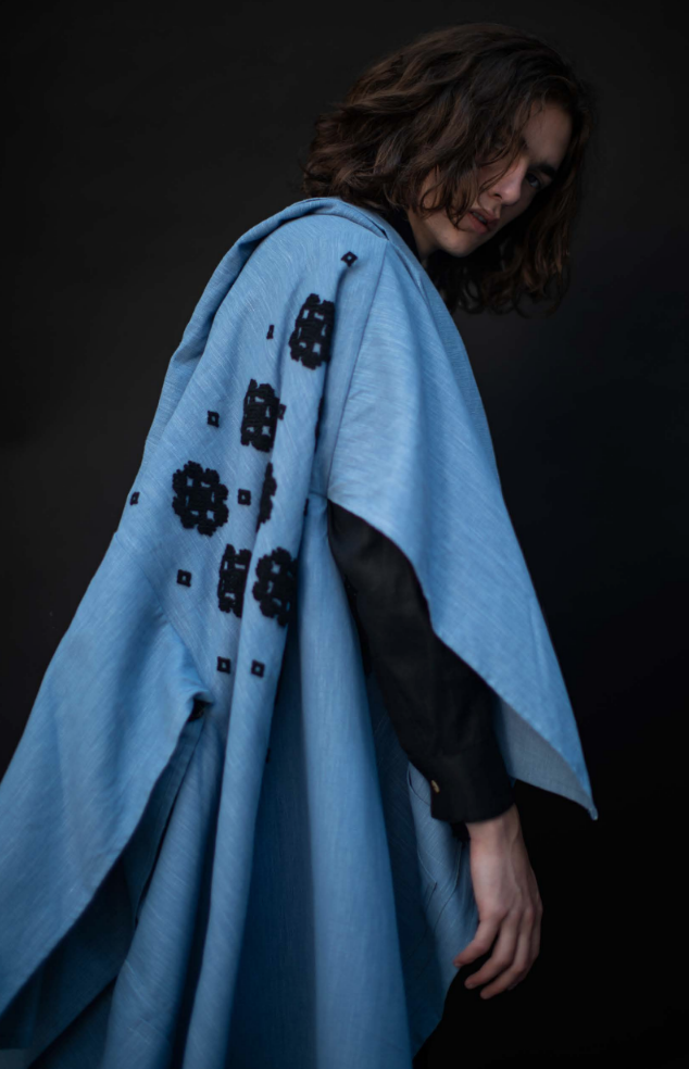 Carla Fernández , Embroidered coat