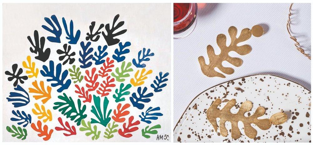 "Henri Matisse ""La Gerbe"" y  DeCoss"