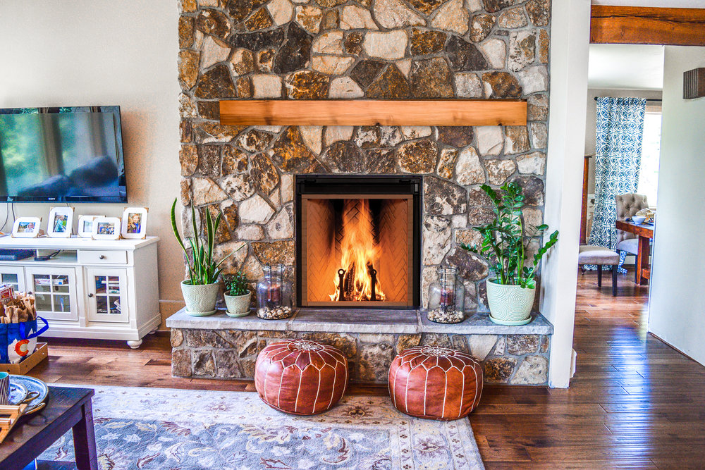 Rumford 1000 Wood Fireplace