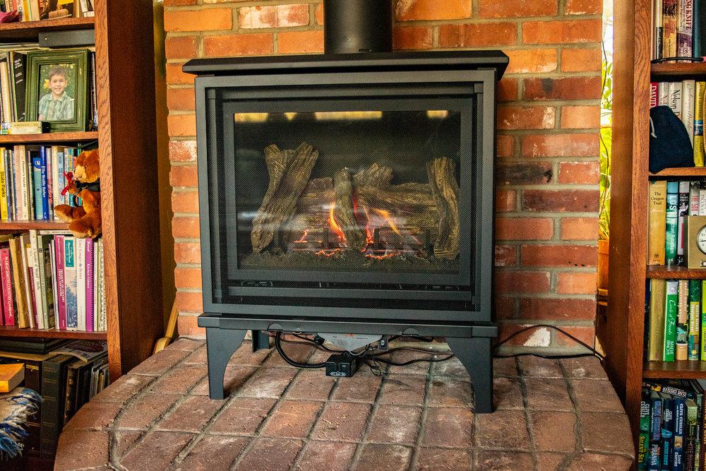 Kozy Heat Birchwood Gas Stove