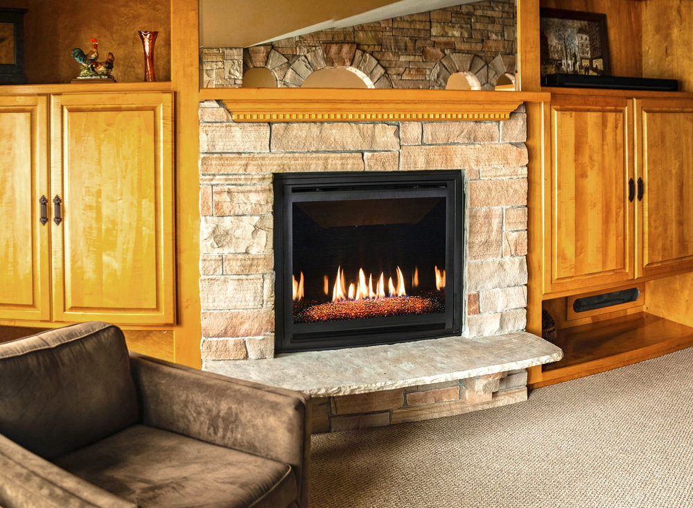 Kozy Heat Bayport 36 Gas Fireplace