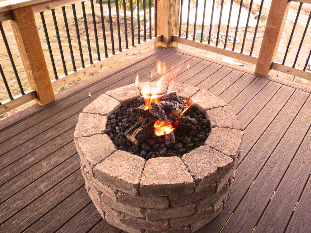 Warming Trends Crossfire Fire Pit