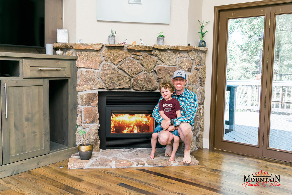 RSF Focus 320 Wood Burning Fireplace