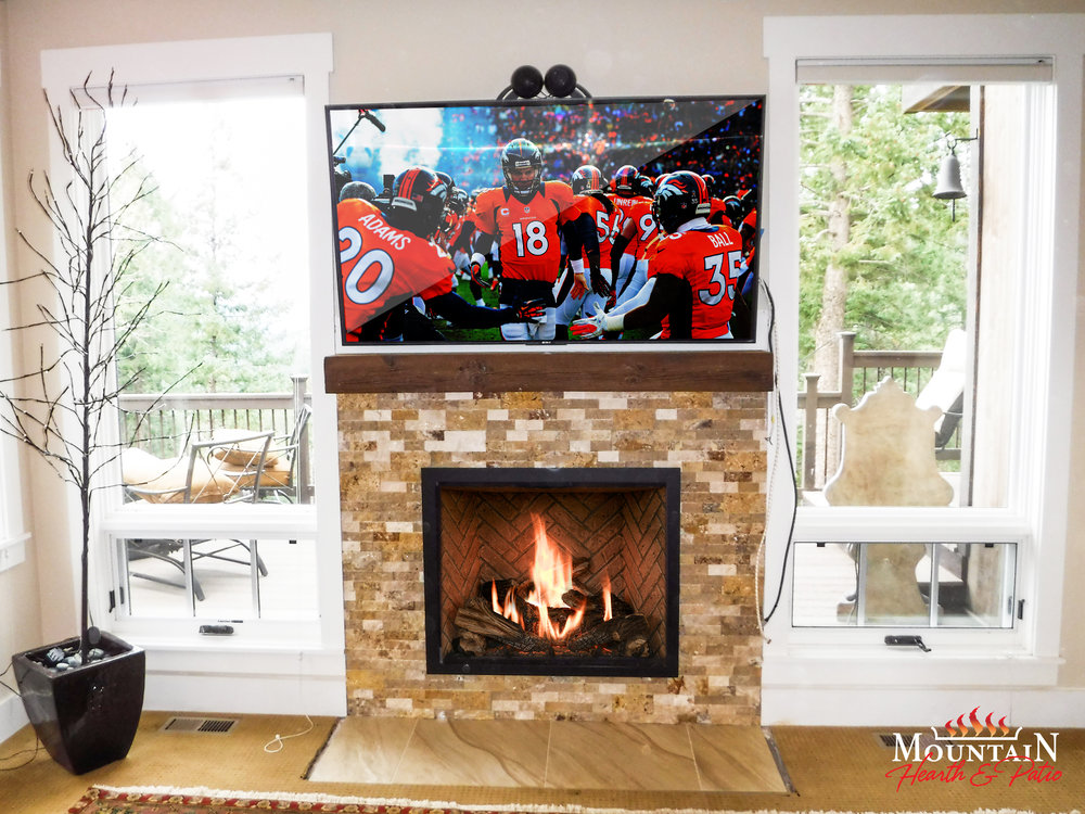 Mendota  FV 41: Gas Fireplace