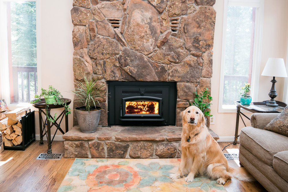woodstove inserts  Inserts are used in old, inefficient masonry fireplaces. There are two types, flush styles and traditional. They are also EPA-Approved.