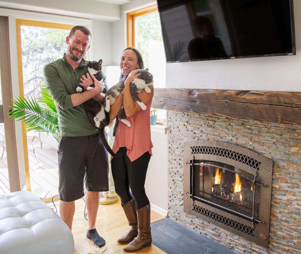 FireplaceX 564 SS Gas Fireplace