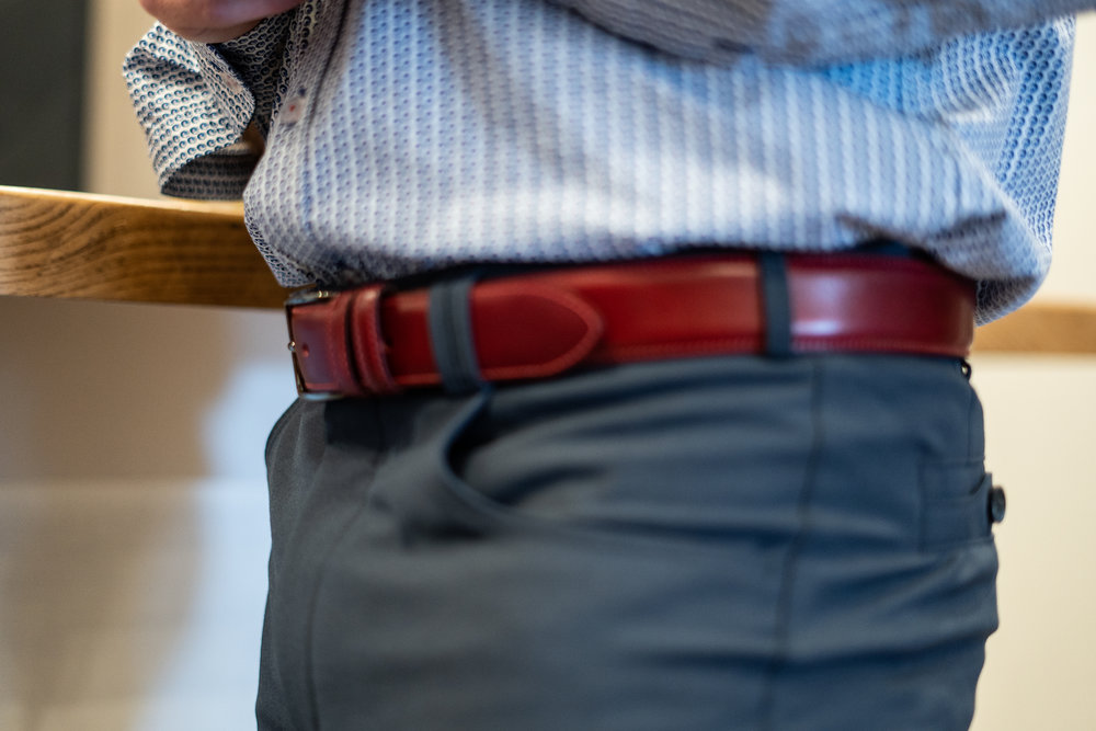 Belts are the perfect tie in to complete your look.