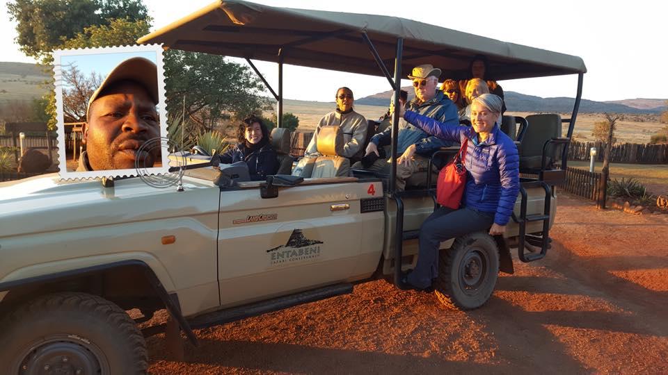 Jennifer Bagshaw Alumni 2013 on Safari in South Africa