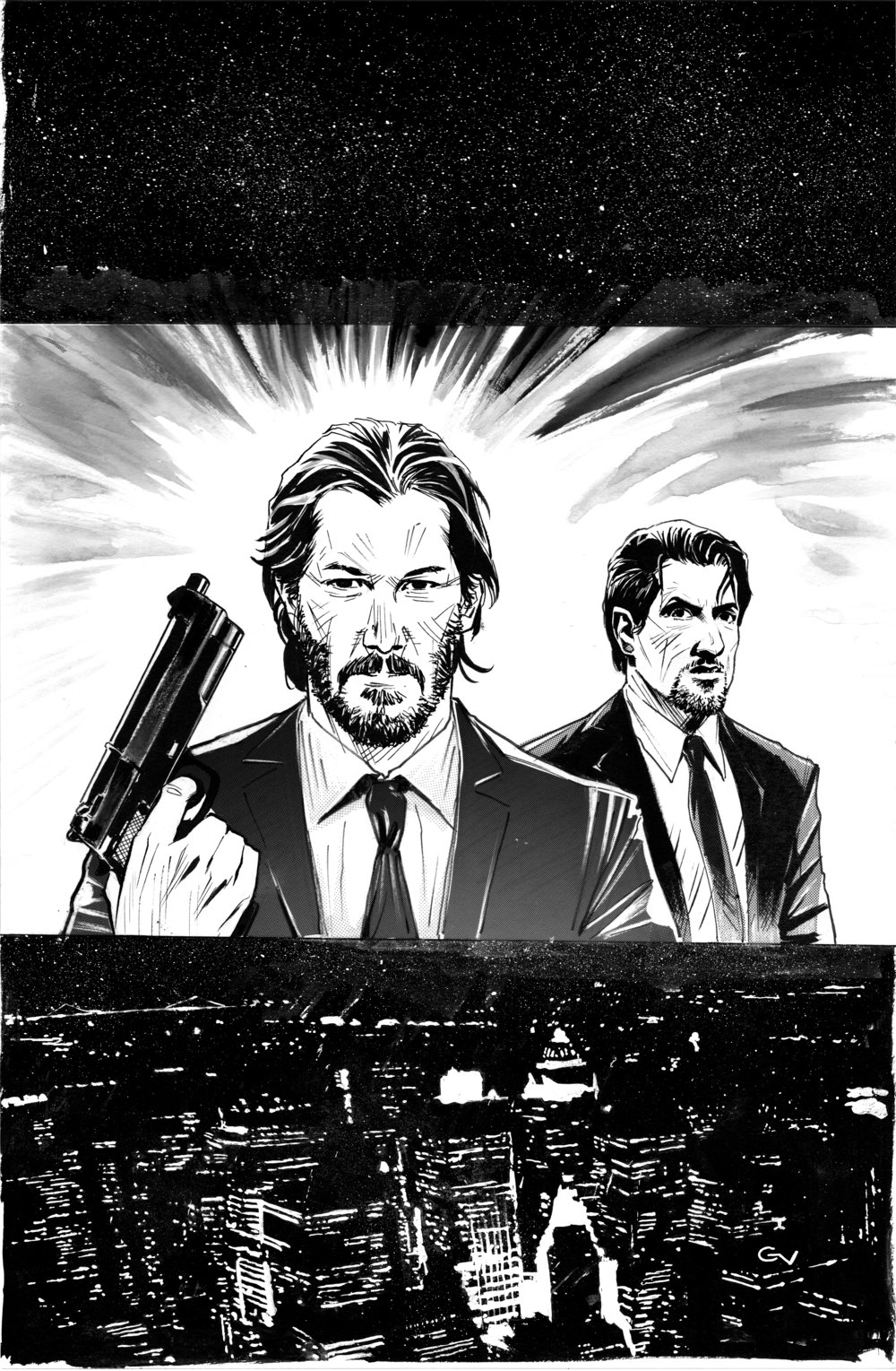 John Wick carter commission.jpg