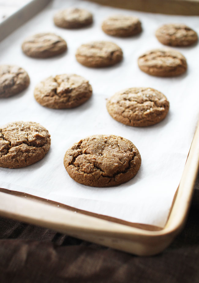 Spiced Ginger Cookies With Molasses Flourishing Foodie