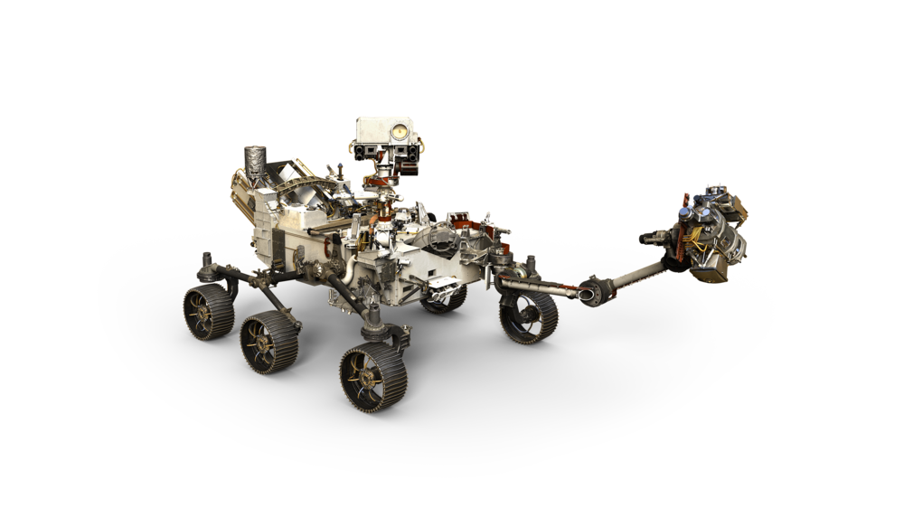 NASA image  - artists' depiction of the NASA 2020 Mars rover!