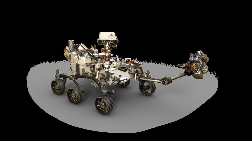 NASA image  - artists' depiction of the NASA 2020 Mars rover!