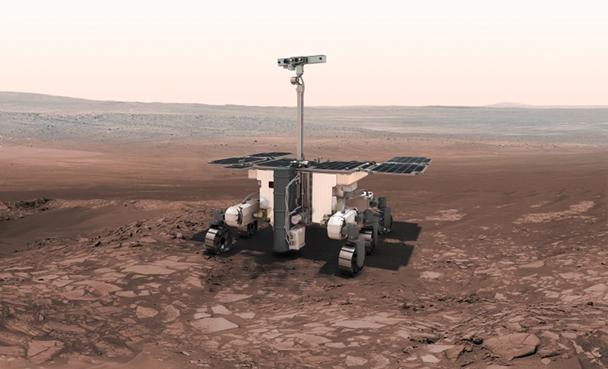 European Space Agency (ESA) image  - the ExoMars rover!