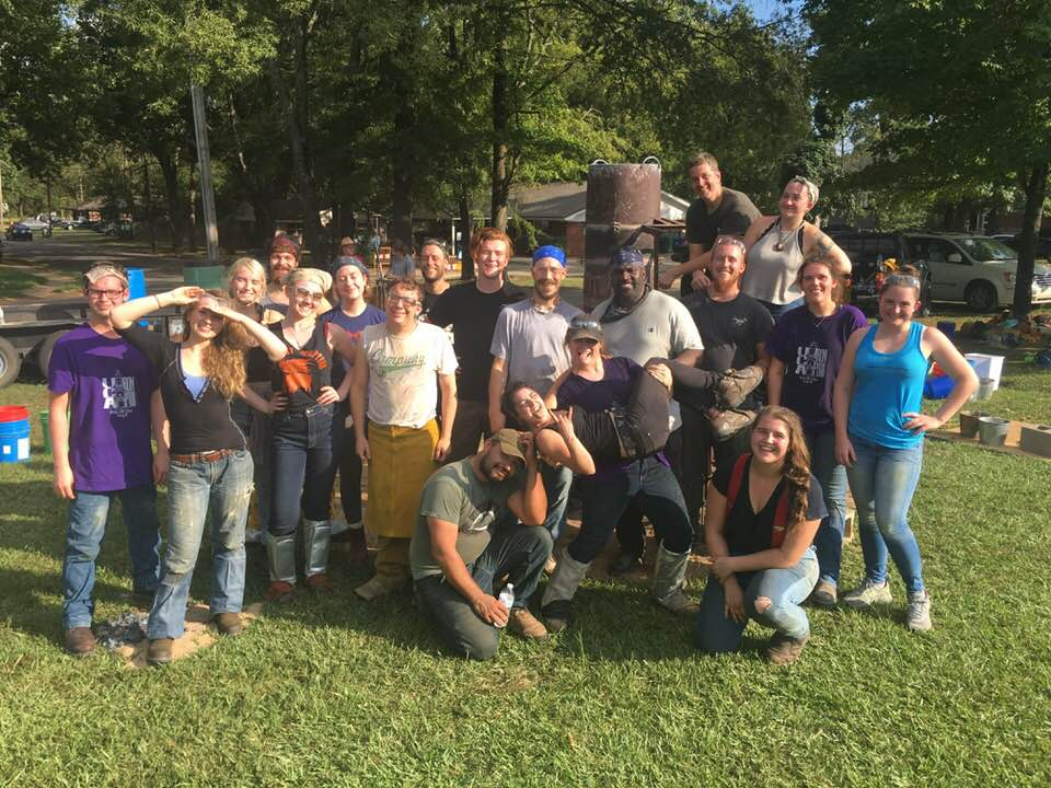 iron pour Arts Fest family photo.jpg