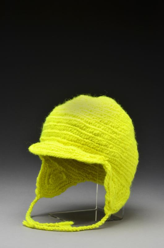 Nålbound Northwoods Neon Cap, Wool, 2014.