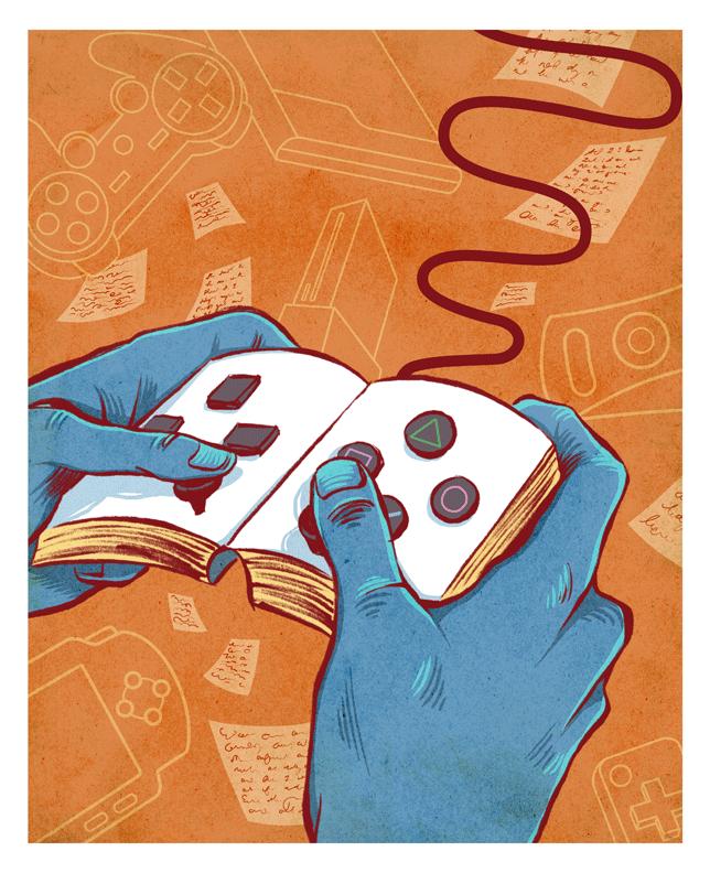 Game Narrative, Illustrator Unknown,   Play Professor