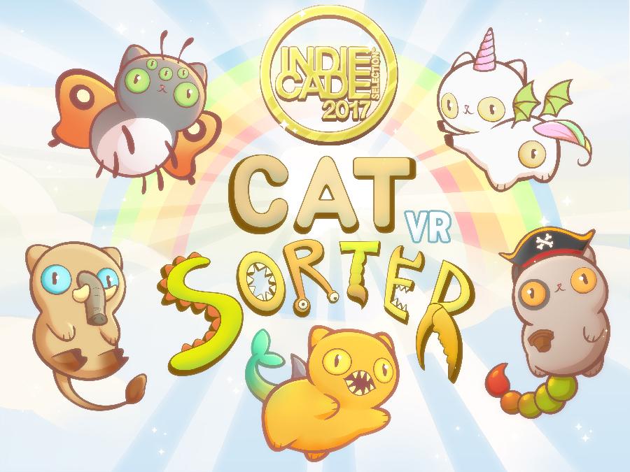 Cat Sorter Indiecade Banner
