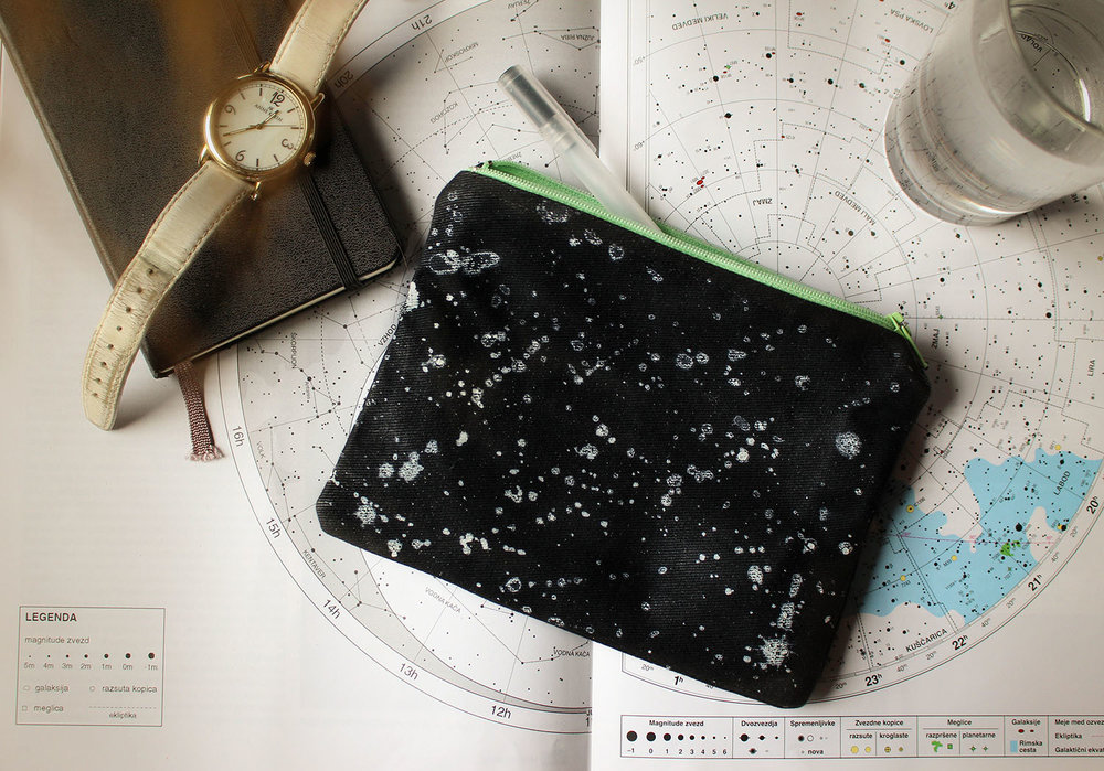 inner clip-in waxed canvas mini bag
